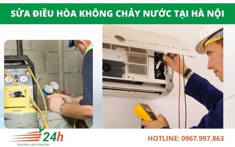 Điện Lạnh Hồng Vân chuyên sửa điều hòa không chảy nước giá rẻ tại nhà