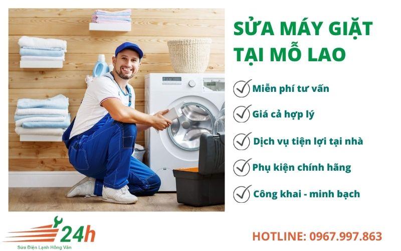 Sửa máy giặt tại Mỗ Lao Hà Đông