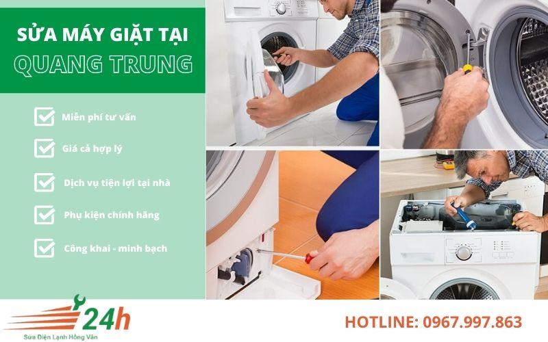 Sửa máy giặt tại Quang Trung chất lượng nhất