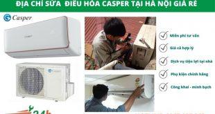 Điện Lạnh Hồng Vân nhận sửa điều hòa Casper giá rẻ