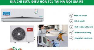 Điện Lạnh Hồng Vân nhận sửa điều hòa TCL giá rẻ