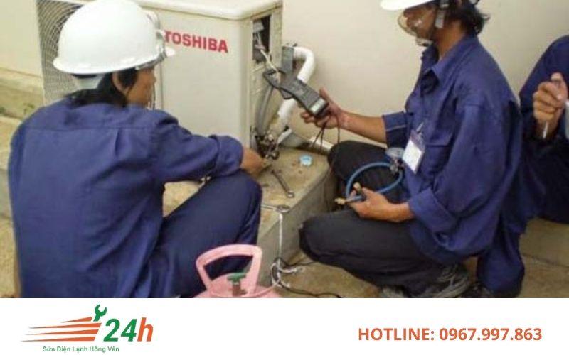 Điều hòa Toshiba hư hỏng nên được kiểm tra và sửa chữa bởi thợ có tay nghề