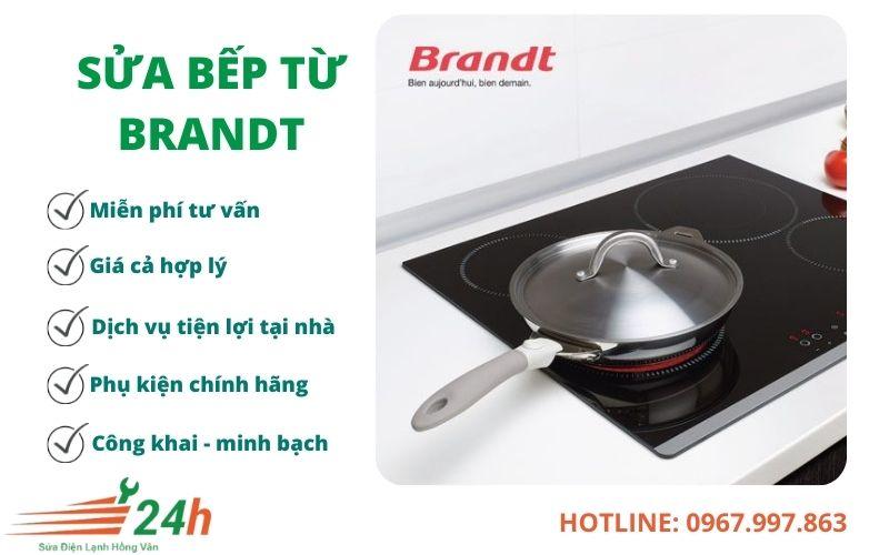 Sửa bếp từ Brandt