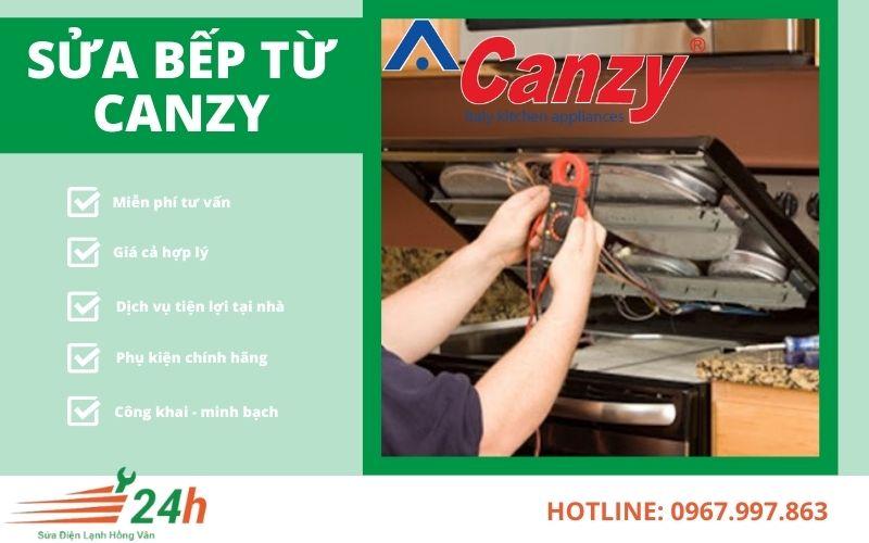 Sửa bếp từ Canzy