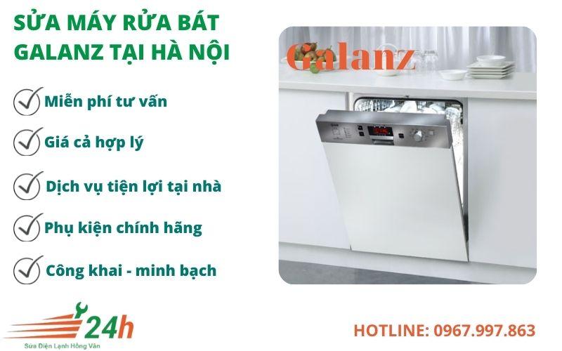 Đơn vị sửa máy rửa bát Galanz uy tín - chất lượng hàng đầu tại Hà Nội