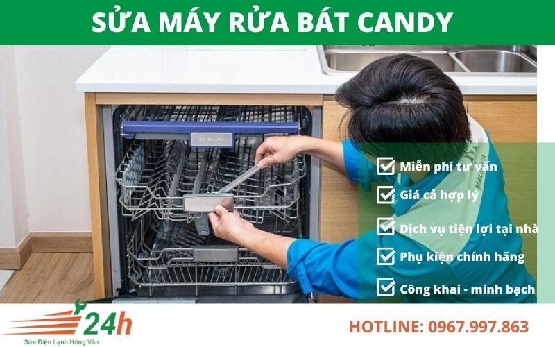 Sửa máy rửa bát Candy